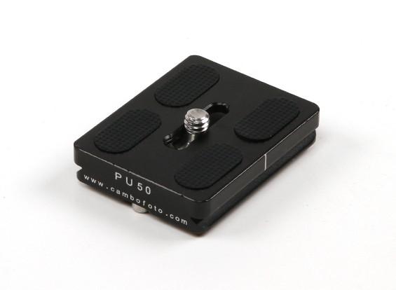 Cambofoto PU-50クイックリリースカメラ/モニターマウント