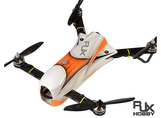 RJX CAOS 330 FPVレーシングドローンコンボ(オレンジ)ESCの&フライトコントローラ、モーターのワット/