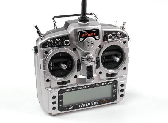 FrSky 2.4GHzのACCST TARANIS X9D PLUSデジタルテレメトリー送信機(モード1)EUのバージョン