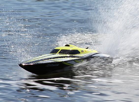 HydroProインセプションブラシレスパワードディープヴィーレーシングボート950ミリメートル(RTR)