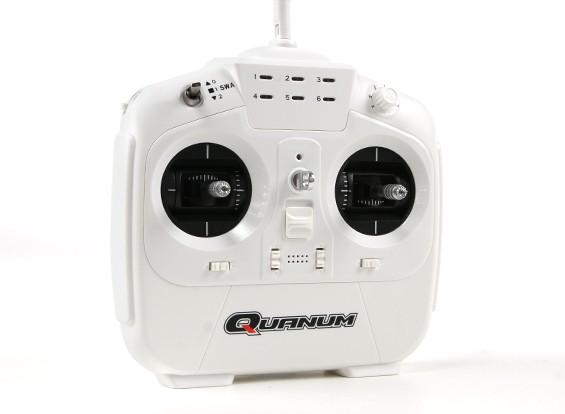 Quanum i8で8点の2.4GHZ AFHDS 2Aデジタルプロポーショナルラジオシステムモード2(ホワイト)