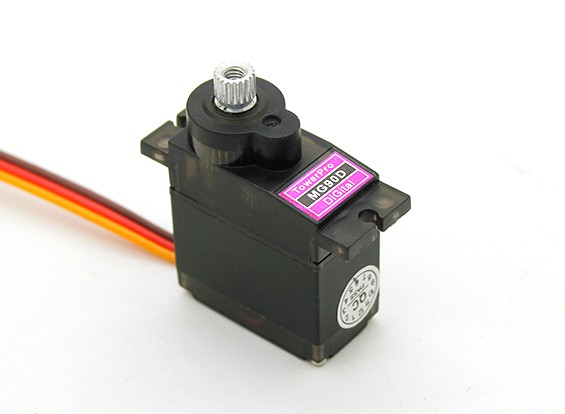 Towerpro MG90D 360度ミニデジタルロボットサーボ2.4キロ/ 0.48sec / 13グラム