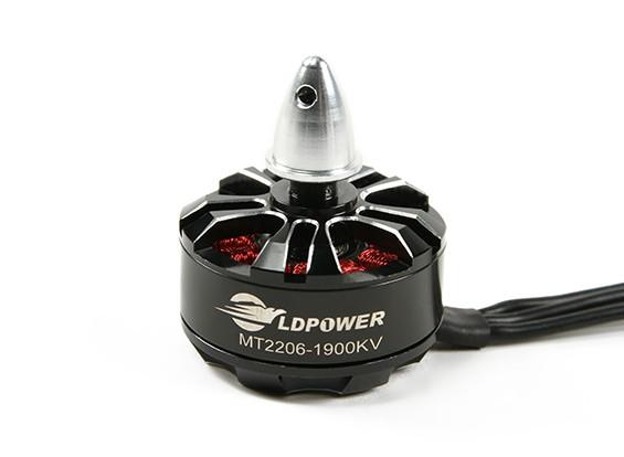 LDPOWER MT2206-1900KVブラシレスMulticopterモーター(CW)