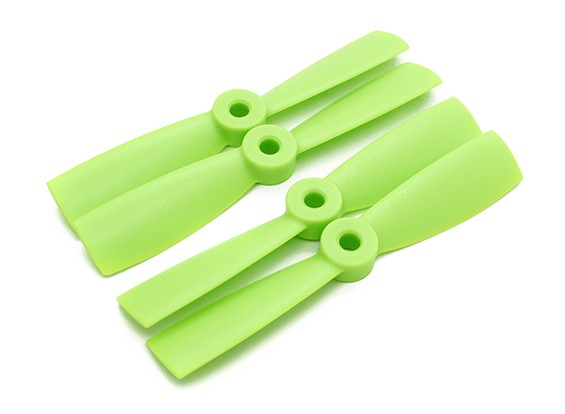 ダイヤトーンブルノーズプラスチックプロペラ4×4.5(CW / CCW)(緑)(2ペア)