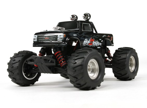 バッシャー1/16 4WDミニモンスタートラックV2  -  HellSeeker(ARR)