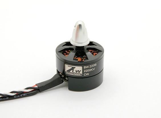 内蔵ESC CWとブラックウィドウ2206 2200KV