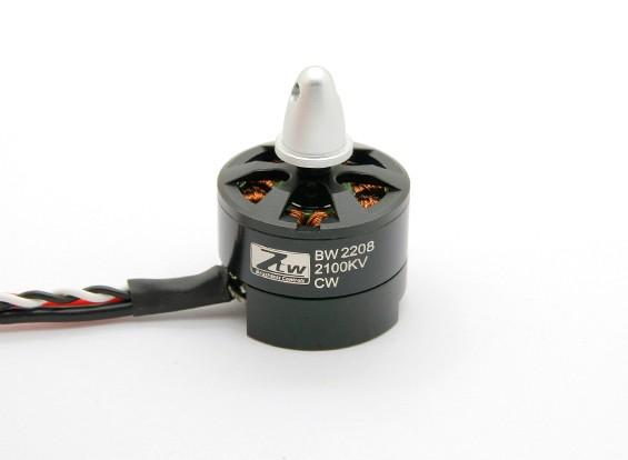 内蔵ESC CWとブラックウィドウ2208 2100KV
