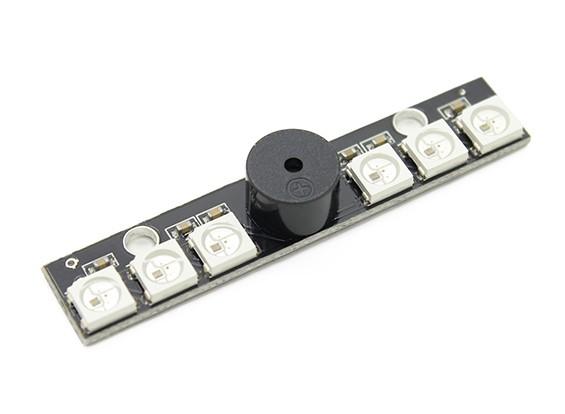 Naze32ためのブザーとWS2812B LEBライトボード