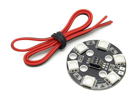 RGB LEDサークルX6 / 12V照明システム