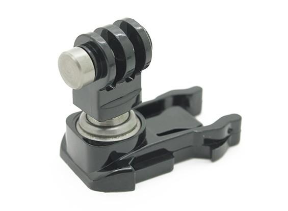 すべてのための回転可能なクイックリリースバックルは、プロのカメラを行きます