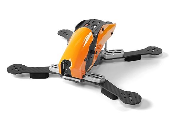 マシンFPVフルカーボンファイバー(オレンジ)を通じてタロットTL280Cスペースフレームのみ