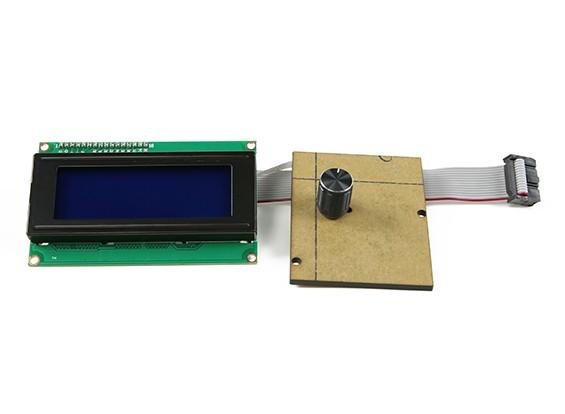 ケーシングのない印刷-Rite社DIY 3D Printer-液晶パネル