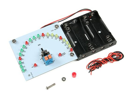 EK5300風力発電キット - 電圧計