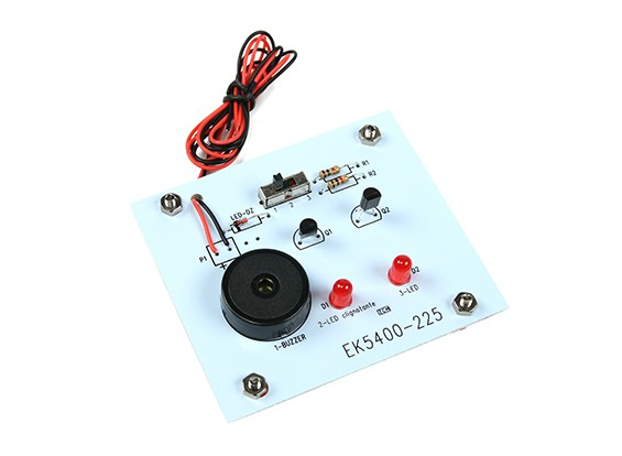EK5200風力発電キット - メロディとライトボード