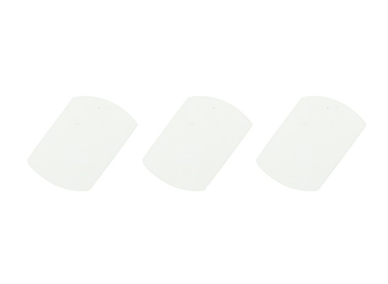 コックス0.049 / 0.051マイラーリードバルブ(3枚)
