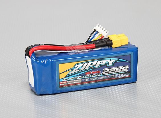 ジッピーFlightmax 2200mAhの4S1P 30C