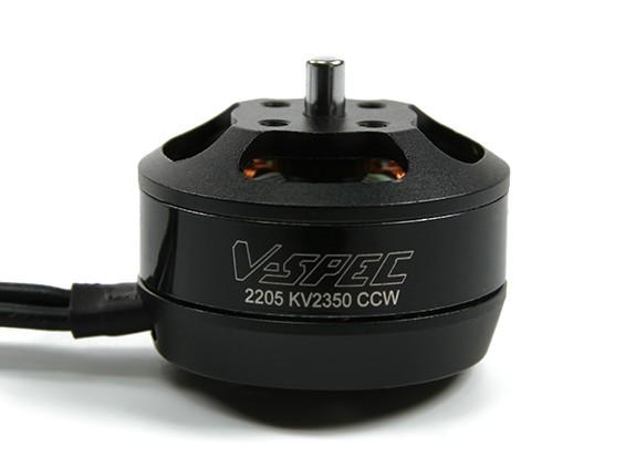 MultiStar Vスペック2205  -  2350KVマルチローターモーター(CCW)(.15LAM)