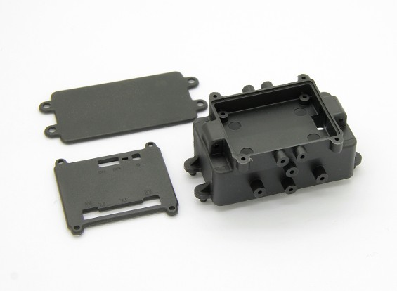 バッテリーケース(1PCS) - バッシャーRockSta 1/24 4WSミニロッククローラー