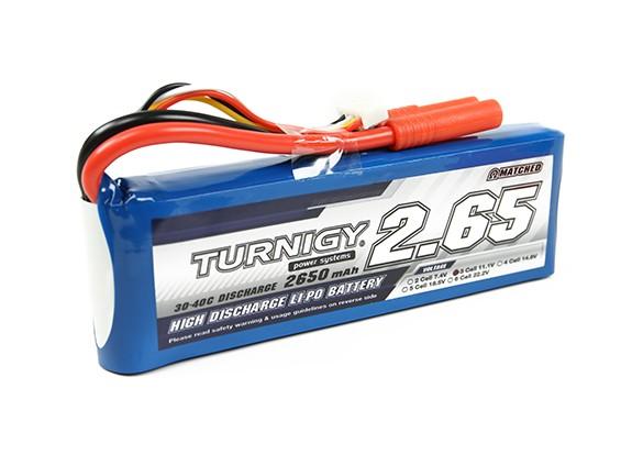 Turnigy 2650mAh 3S 30Cリポパック