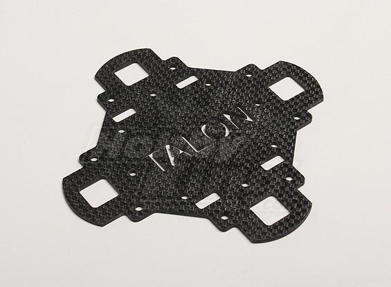 Turnigyタロンカーボンファイバーメインフレーム上部プレート(1個/袋)