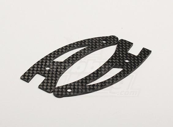 Turnigyタロン炭素繊維ランディングギア(2個/袋)