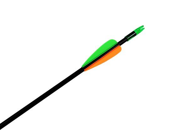 30「後ろに反らす弓用のグラスファイバーアロー(1矢印)