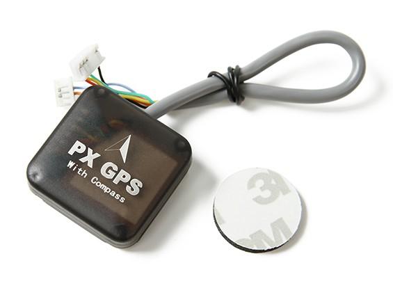 Pixhawk / PX4のためのコンパスとUblox 7シリーズナノPX GPS