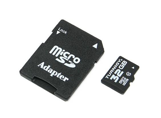 Turnigy 32ギガバイトクラス10マイクロSDメモリーカード(1個)(ARウェアハウス)