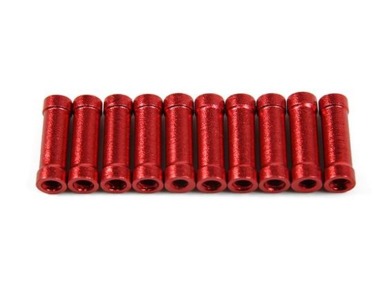 218プロCNCアルミスペーサー(赤)をジャンパー(10個入り)
