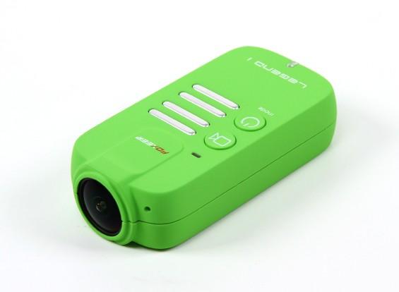 Foxeerレジェンド1 1080P 60fpsのアクションカメラ(グリーン)