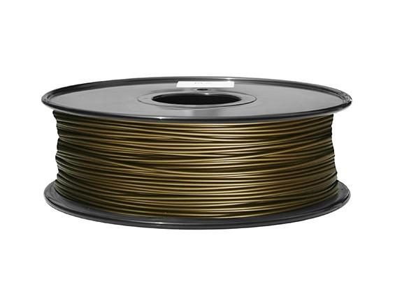 HobbyKing 3Dプリンタフィラメント1.75ミリメートル金属複合0.5KGスプール(真鍮)