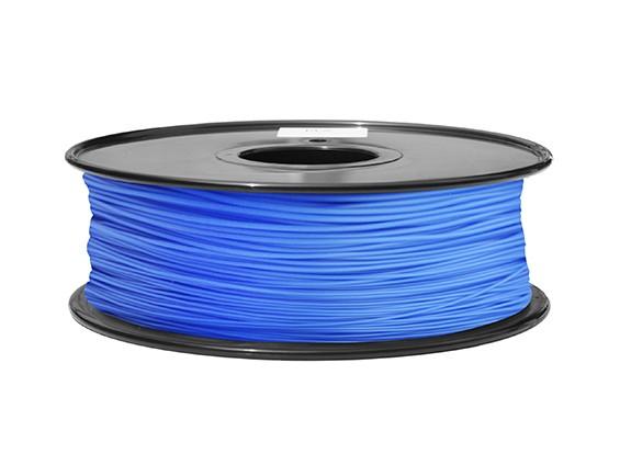 HobbyKing 3Dプリンタフィラメント1.75ミリメートルABS 1KGスプール(ブルーP.286C)