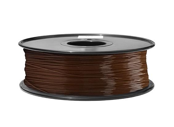 HobbyKing 3Dプリンタフィラメント1.75ミリメートルABS 1KGスプール(ブラウンP.732C)
