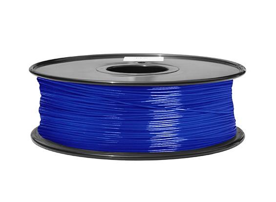 HobbyKing 3Dプリンタフィラメント1.75ミリメートルABS 1KGスプール(透明ブルー)