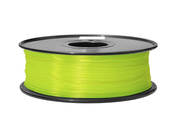 HobbyKing 3Dプリンタフィラメント1.75ミリメートルABS 1KGスプール(蛍光イエロー)