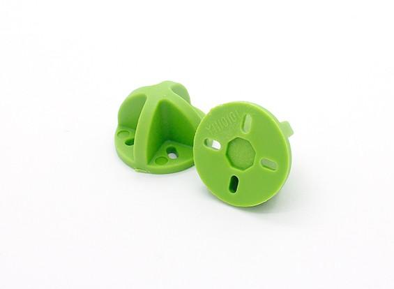 9ミリメートル/ 12ミリメートルのためのダイヤトーンランディングギア(緑)(2個)