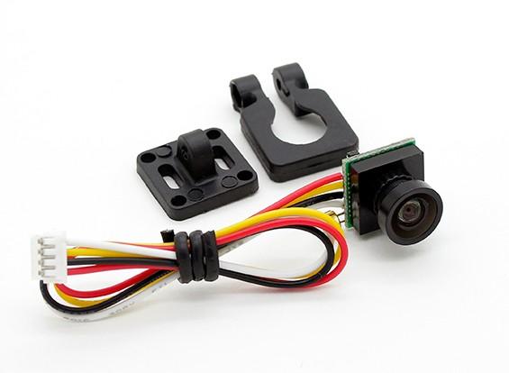 ダイヤトーン600TVL 120degミニチュアカメラ(ブラック)