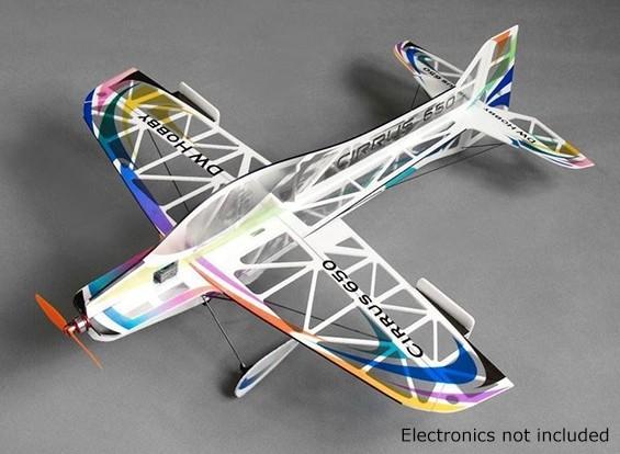 HobbyKing CIRRUS-D 650ミリメートルF3Aインドアフライヤー(キット)