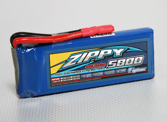 ジッピーFlightmax 5800mAh 2S1P 30C