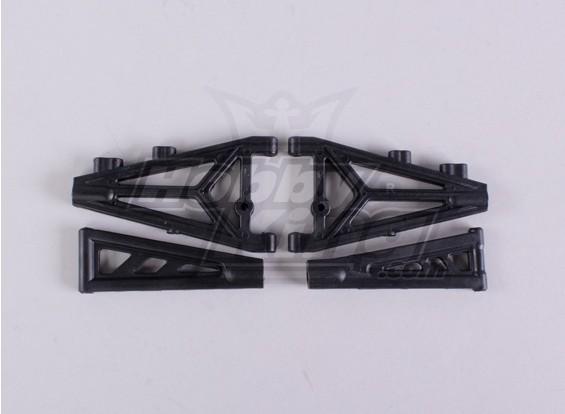 フロント/リア上下Susp.Armsセット -  A2016T