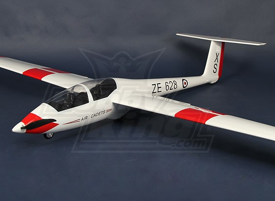 ASK21 EPグライダー2600ミリメートルグラスファイバー(ARF)