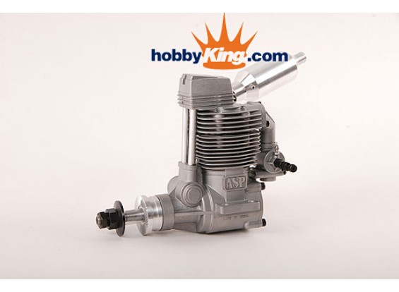 ASP四ストローク120FSグローエンジン