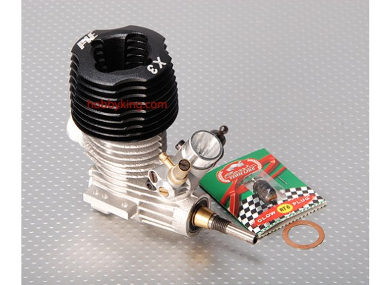 AXEロッシX3車のエンジン