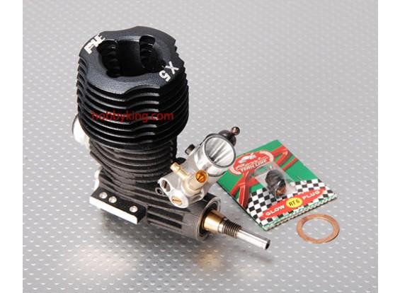AXEロッシX5車のエンジン