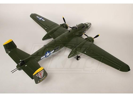 B-25ミッチェル爆撃機ワット/ツインブラシレス&引っ込むのプラグ&プレイ