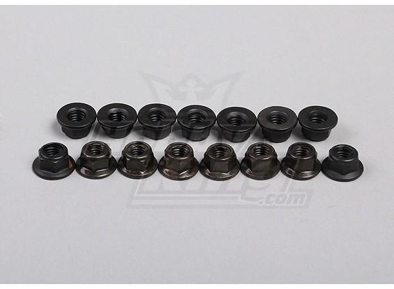 六角フランジナットM5(15pcs /袋) -  1/5 4WDビッグモンスター