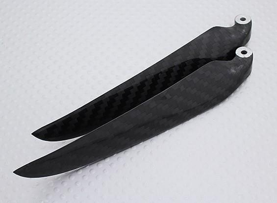 折りたたみカーボンファイバープロペラ11x6ブラック(CCW)(1個)