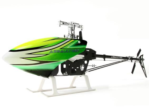 アサルト450DFC TTフライバーレス3Dヘリコプターキット