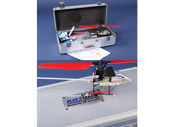 青い矢印敏捷3DX V2ヘリコプター35MHzの