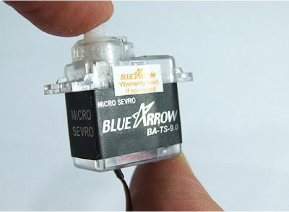 アロー9.0グラム/ 1.3キロ/ .12secマイクロサーボ